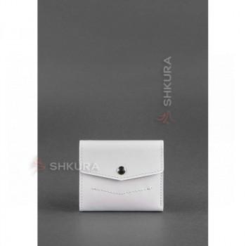 Женский кожаный кошелек 2.1 Белый