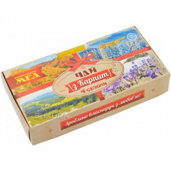 """Чай """"Чай из Карпат 4 сезона"""" с медом"""