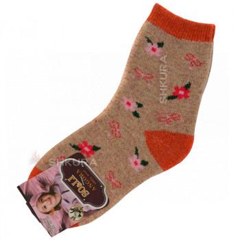 Детские носки из ангорской шерсти 03