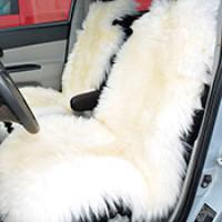 Меховые накидки для автомобиля