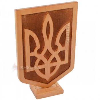 Настольный герб Украины В04
