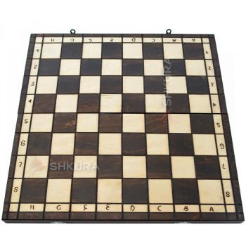 Шахматная доска. 43х43 см