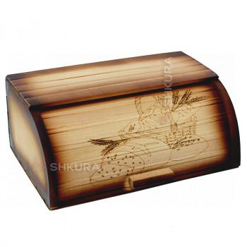 Хлебница деревянная 17