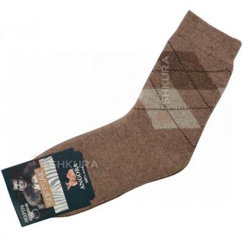 Мужские носки из ангорской шерсти 01