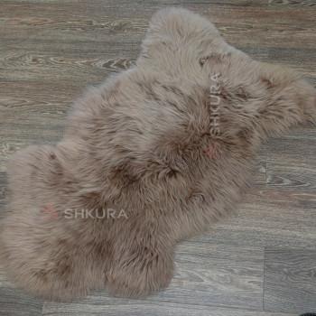 Овечья шкура светло-коричневая, крашеная