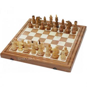 Шахматы 2 в 1. 50х50 см. Берест
