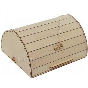 Хлебница деревянная 09