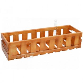 Деревянный ящик для вазонов. Дуб