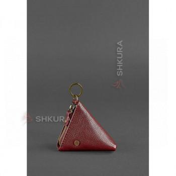 Женская кожаная монетница 2.0 Пирамида Марсала