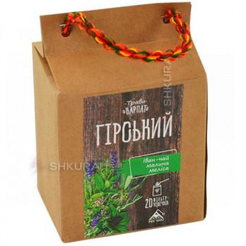 """Чай """"Горный"""", 20 пакетиков"""