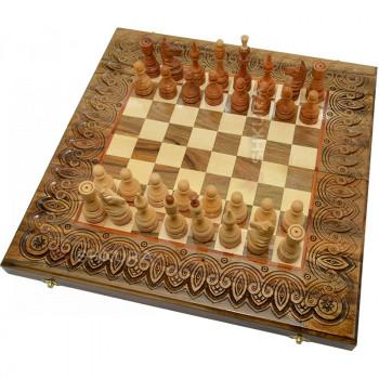 Шахматы+Нарды+Шашки. 50х50 см