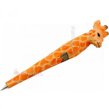 """Деревянная ручка """"Жираф"""""""