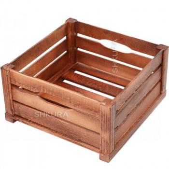 Деревянный ящик 01. Вишня