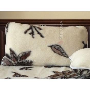 Подушка из овечьей шерсти 45х35 см
