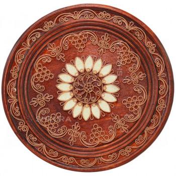Декоративная тарелка. Солнце